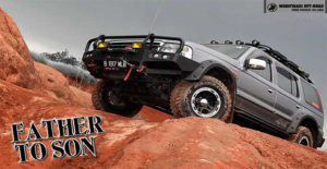 Modifikasi Ford Everest Off-Road Style