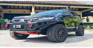 Modifikasi Mitsubishi Pajero Dakar 4x4 Off-Road Style